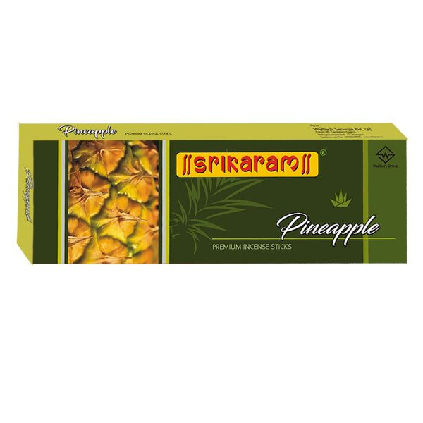 Srikaram Pineapple Premium Incense Sticks